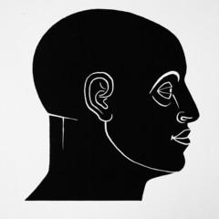 Kopf-Silhouette