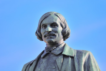 Monument of Gogol. Moscow, Russia