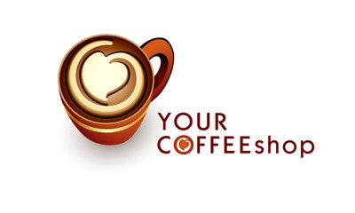 Logo template coffee business