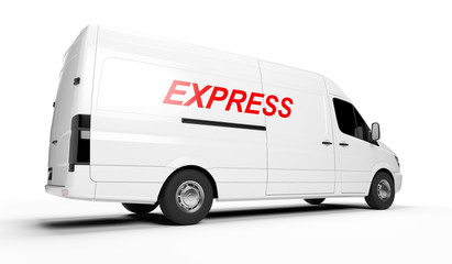 3d rendered illustration of an express transporter