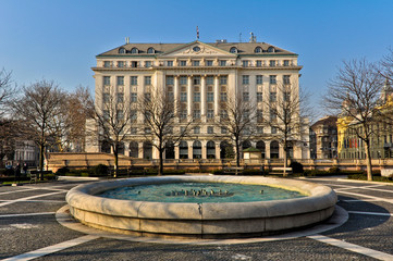 Hotel Esplanade, the famous hotel in Zagreb, Croatia
