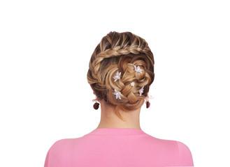 Braiding. Hairstyle