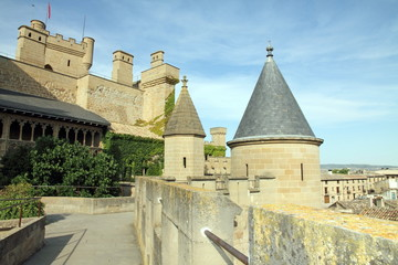 Castle Olite, State run hotel,Navarre,Spain