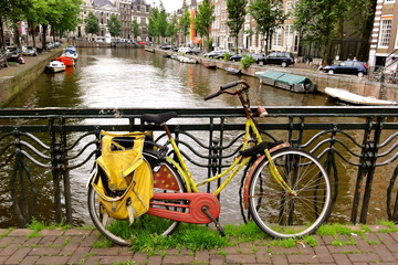 Old Bike in Amsterdam