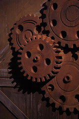 木製の歯車