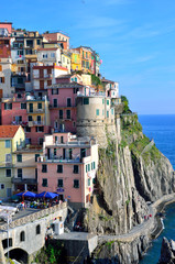 manarola, Italy - colorful fishermen village