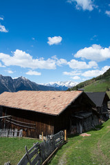 Berghütte, Südtiol, Italien
