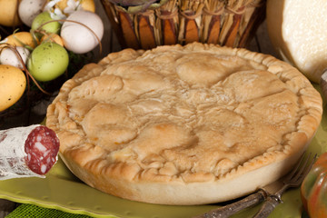 Pizza Rustica, Traditional Neapolitan Cuisine