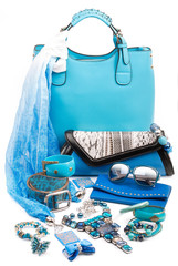 aquamarine fashion accessories
