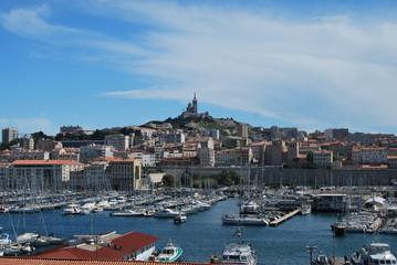 Marseille, Notre Dame de la Garde et le Vieux Port