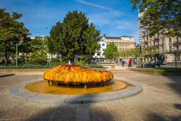 Kochbrunnen der Kurstadt Wiesbaden