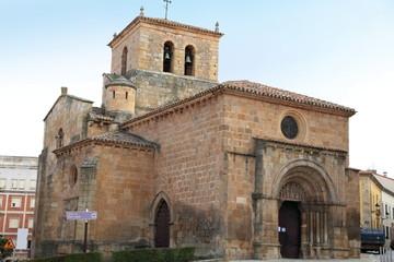 San Juan romanesque church Soria city Castile Spain