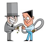 Banker  swindler