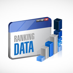 web ranking stats business illustration design