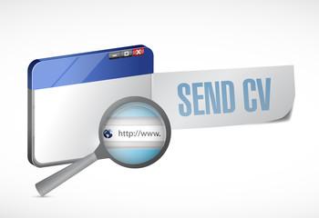 send cv online illustration design