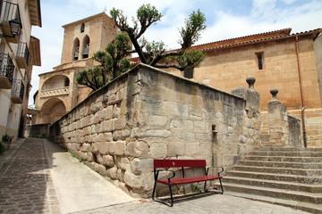 Iglesia de San Roman, church in Cirauqui, Navarre, Spain