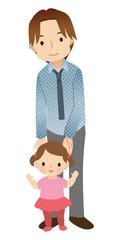 子供と父親