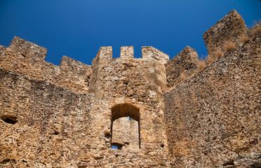 Башня крепости Франгокастелло. Греция. Крит