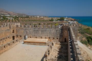 Венецианская крепость Франгокастелло. Греция. Крит