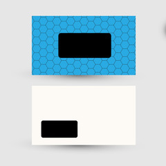 Business card template, easy all editable