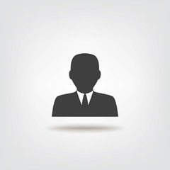 Businessman icon sign icon