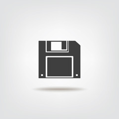 Floppy disk sign icon
