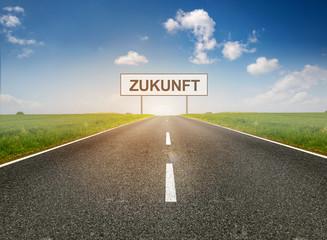Straße mit Zukunft