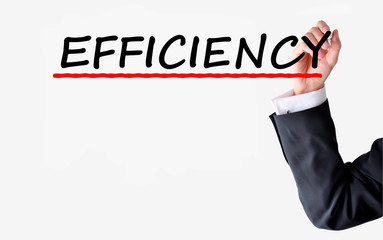 Efficient employee concept