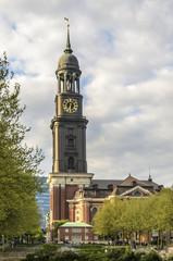 Michel (St Michaelis Kirche) in Hamburg
