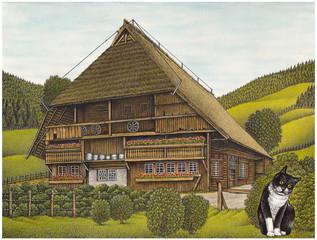 Vogtsbauernhof Gutach.Schwarzwald