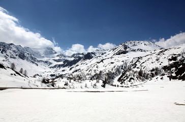 La grande plaine blanche + Gampisch.