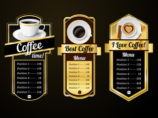 Coffee design templates