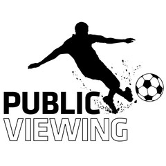 Fussball Public Viewing