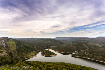Natural Park Monfragüe. Extremadura. Spain
