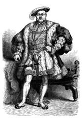 English King : Henry VIII - 16th century