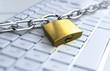 Leinwandbild Motiv Sicherheit im Internet