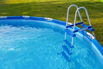 Swimmig pool in garden