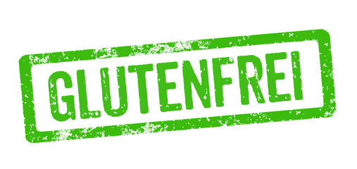 Grüner Stempel - Glutenfrei