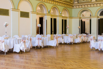 wooden dance floor, wedding or another catered event place