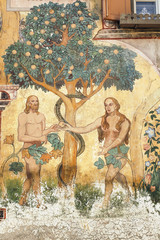 Ardez (Engadine): Adam and Eve