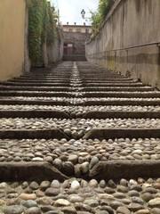 scalinata a Saluzzo