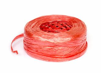 Plastic rope.