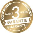 Siegel Gold 3 Jahre Garantie