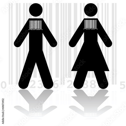 Barcode in people