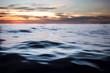 dark ocean sunset