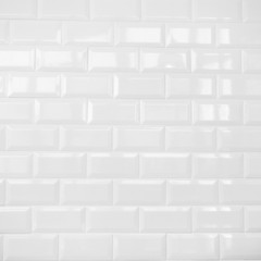white ceramic brick tile wall,background
