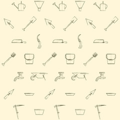 Background for gardening tools