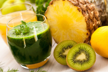 healthy fruit juice