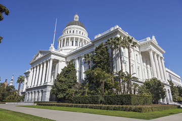 Capitol Building in Sacramento, California