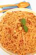 capellini aux saint-jacques et crevettes